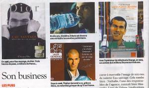 Zidane dans l'Express