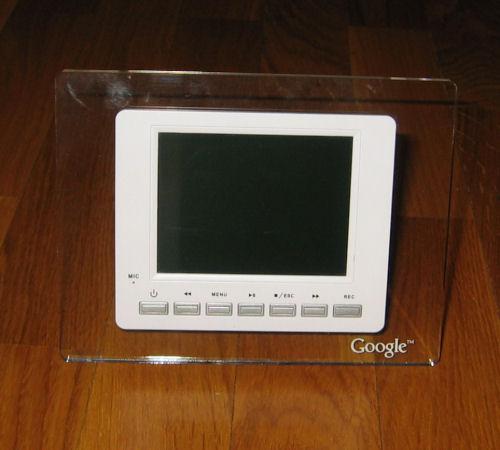 Cadre photo numérique cadeau noël 2006 de Google