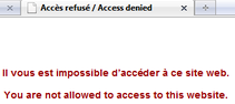 koreus mcdo wifi bloqué